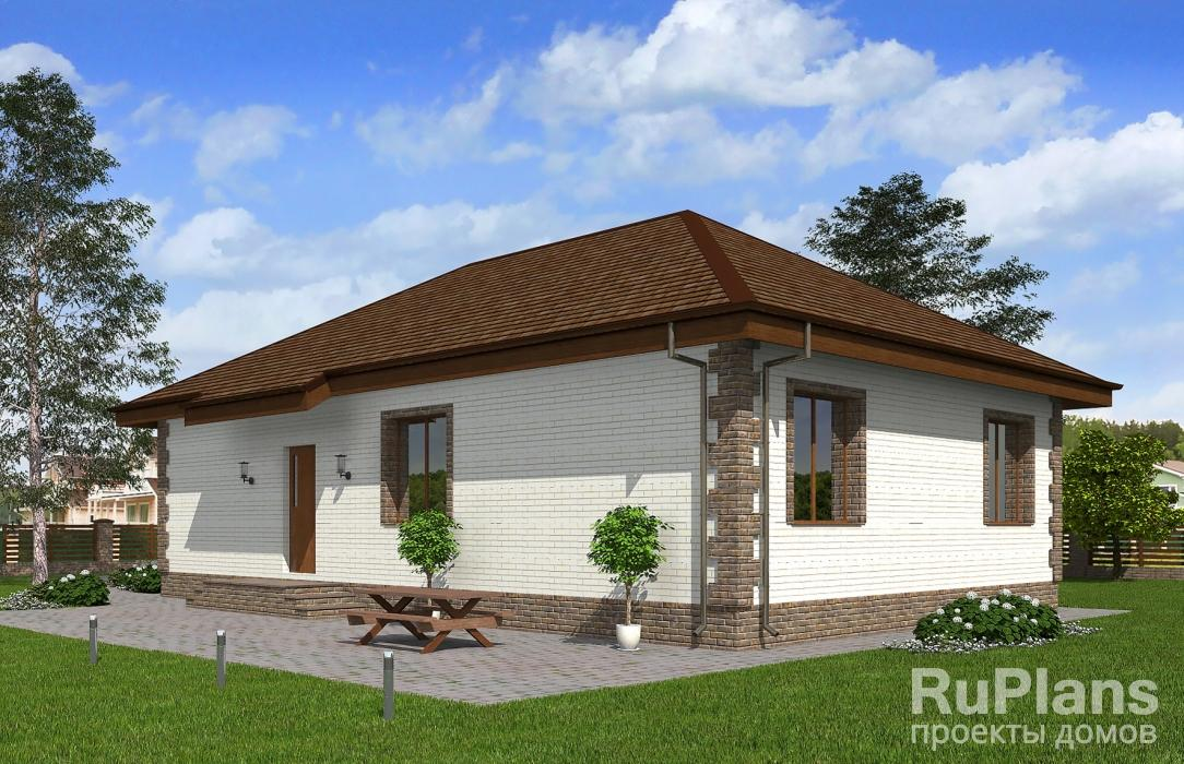 Rg3446 — проект одноэтажного жилого дома