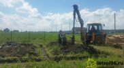 Бурение скважин под сваи поселок Прохладный