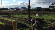 Бурение скважин под сваи поселок Заречный