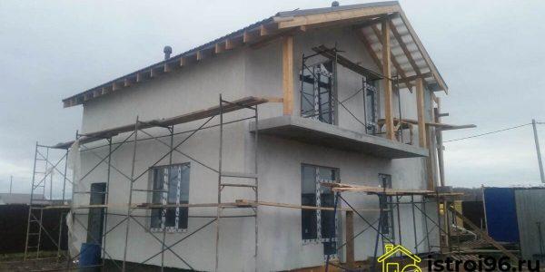 Фасадные работы-3 поселок Прохладный