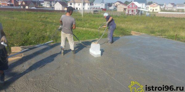 Монтаж монолитной плиты перекрытия-2 поселок Прохладный
