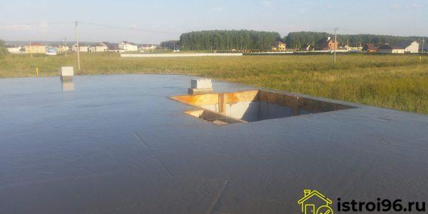 Монтаж монолитной плиты перекрытия-4 поселок Прохладный