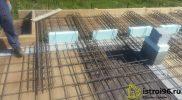 Монтаж монолитной плиты перекрытия поселок Прохладный