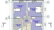 План 2 этажа поселок Ключевск