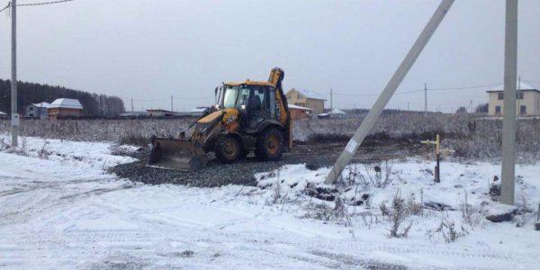 Подготовка площадки под строительство КП Расторгуев