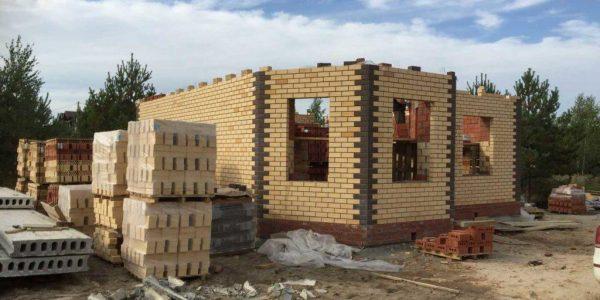 Строительство 1 этажа-2 поселок Билимбай