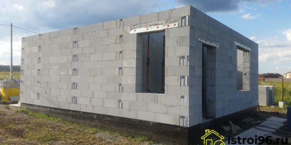 Строительство 1 этажа-2 поселок Прохладный