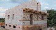 Строительство 1 этажа поселок Ключевск