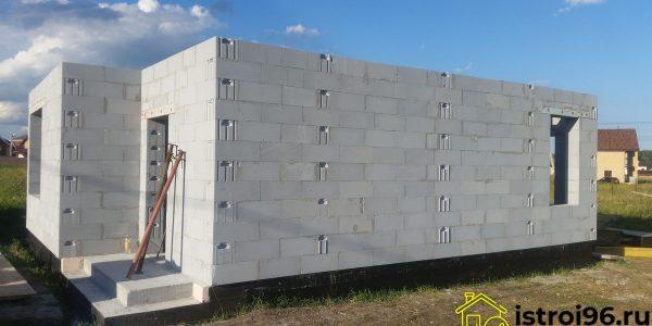 Строительство 1 этажа поселок Прохладный