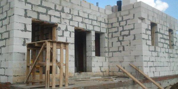 Строительство 1 этажа поселок Верхняя Сысерть