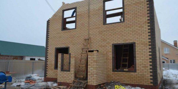 Строительство 1 и 2 этажа поселок Заречный