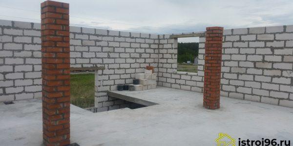 Строительство 2 этажа-2 КП Алые паруса