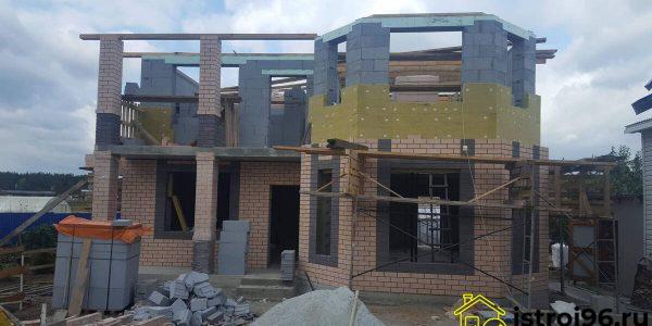 Строительство 2 этажа-2 село Малобрусянское