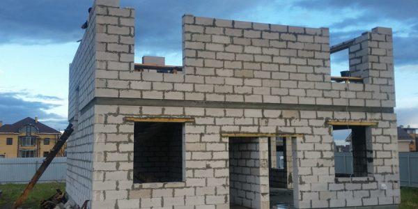 Строительство 2 этажа КП Алые паруса