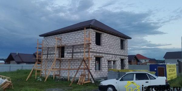 Строительство крыши-2 КП Алые паруса
