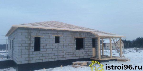 Строительство крыши КП Расторгуев