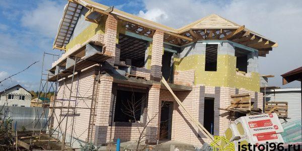 Строительство крыши и фасадные работы-3 село Малобрусянское