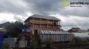 Строительство крыши и фасадные работы-4 село Малобрусянское
