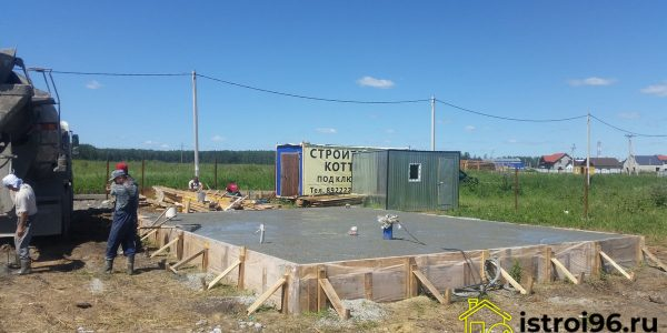 Устройство фундамента-4 поселок Прохладный