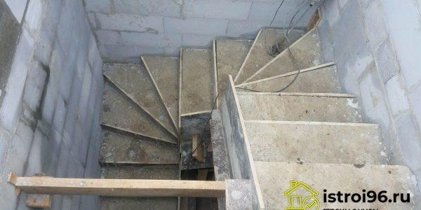 Устройство монолитной лестницы-2 поселок Прохладный