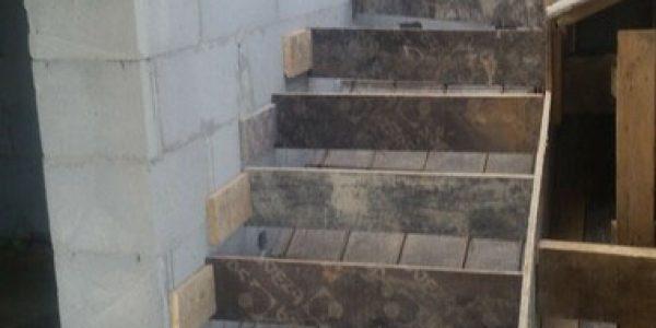Устройство монолитной лестницы поселок Прохладный