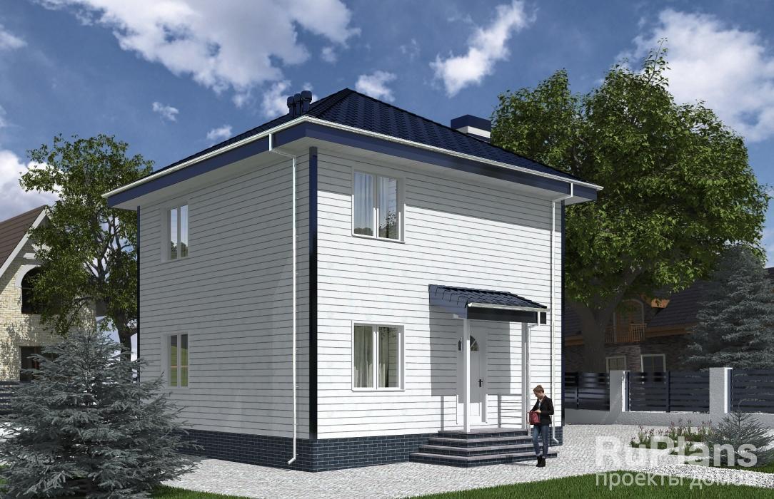 Rg5309 — проект двухэтажного дома