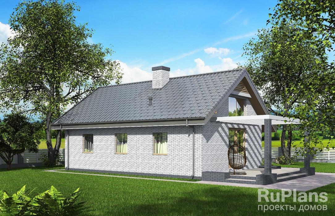 Rg5350 — проект одноэтажного эконом дома