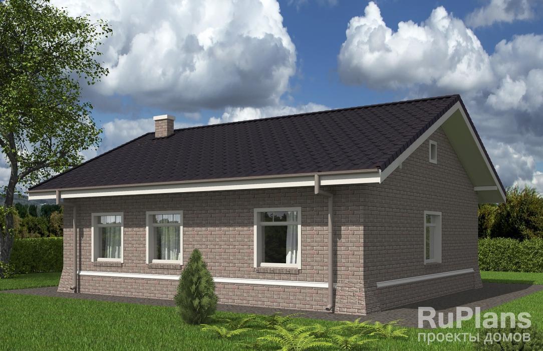 Rg5500 — проект одноэтажного дома