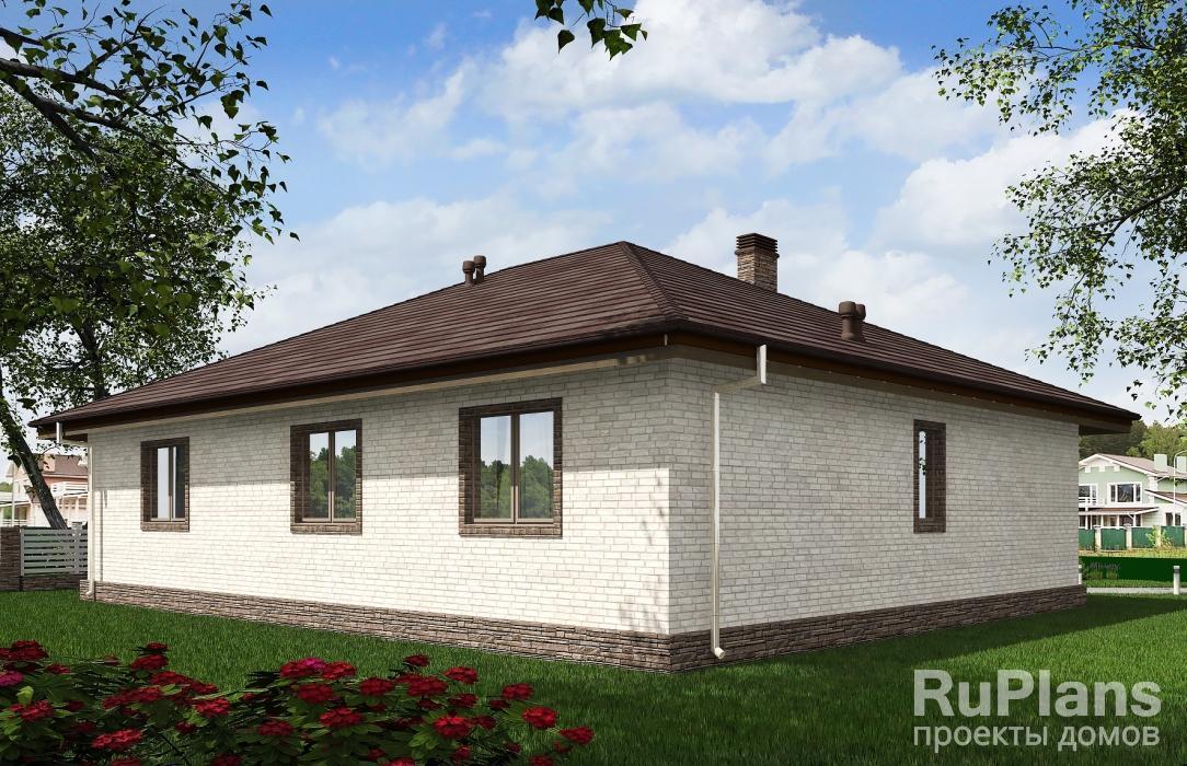 Rg5507 — проект одноэтажного жилого дома