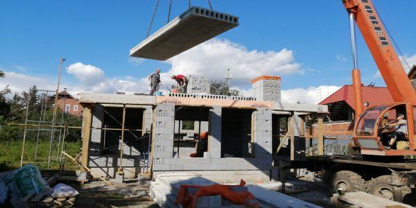 Монтаж плит перекрытий в Малое Седельниково