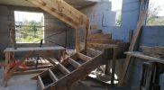 Устройство опалубки лестницы в Малое Седельниково
